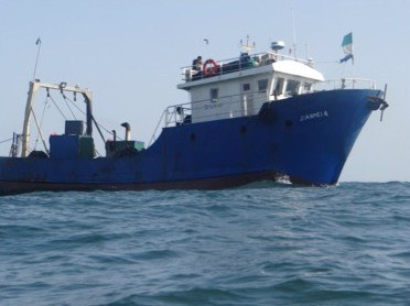 Three illegal trawlers flee Sierra Leone to escape justice