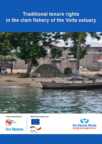 Traditional tenure rights in the clam fishery of the Volta estuary