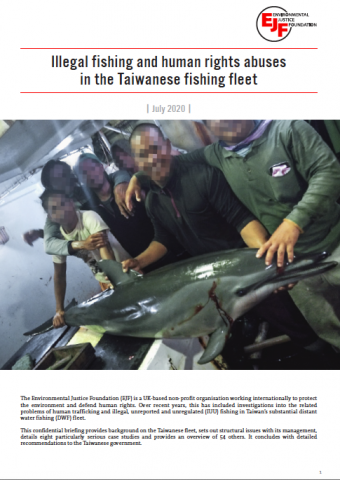 Illegal fishing and human rights abuses in the Taiwanese fishing fleet